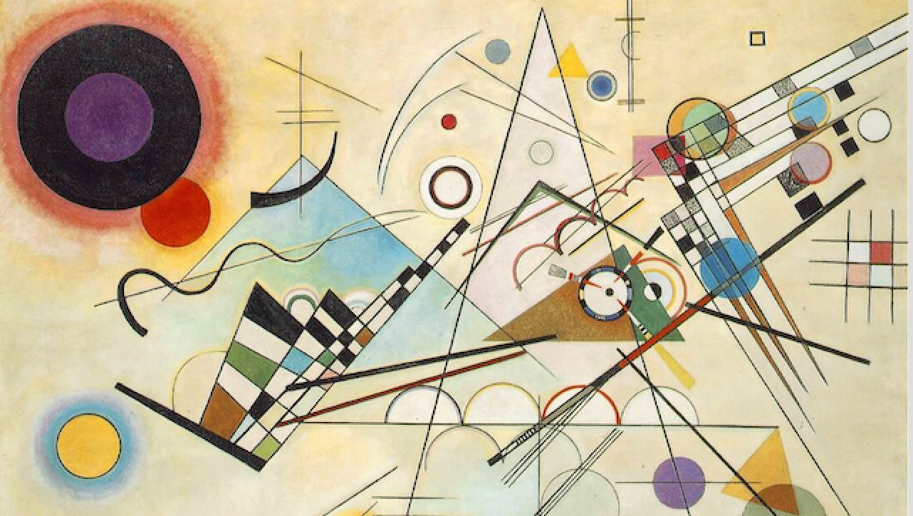 Composition VIII, Wassily Kandinsky, 1923,  Shared via #WikiArtApp http://bit.ly/18GCSaj