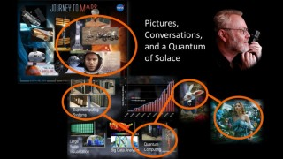 What is the use of quantum computing without pictures or conversations?