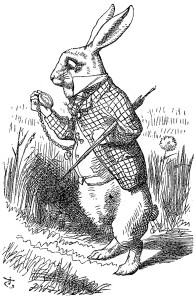 Tenniel Rabbit