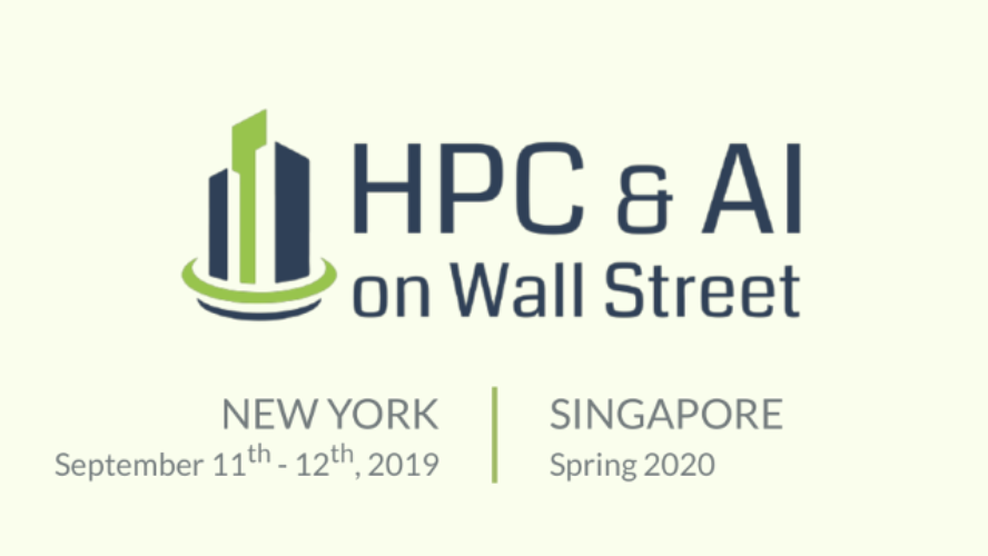 HPC and AI on Wall Street