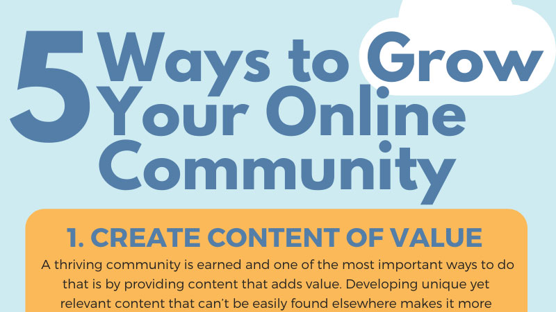5 Ways to Grow Your Online Community